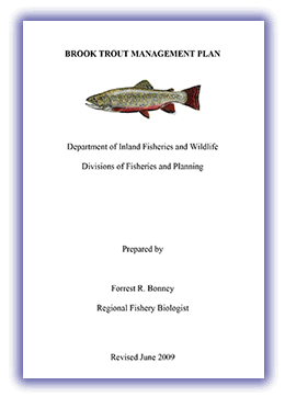 Maine Brook trout management