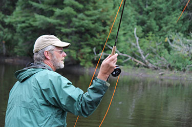 Bob Johnson Allagash Lodge in northern Maine